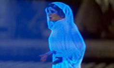 Princess Leia hologram could become reality   Science   The Guardian