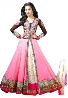 DESIGNER Salwar Kameez Bollywood Indian Suit Anarkali Dress Pakistani Ethnic for sale online Indian Anarkali Dresses, Designer Anarkali Dresses, Anarkali Suits, Designer Dresses, Long Anarkali, Salwar Dress, Punjabi Suits, Garba Dress, Designer Wear