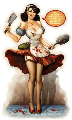 Homicidal house wife! haha!! there you go -sasch