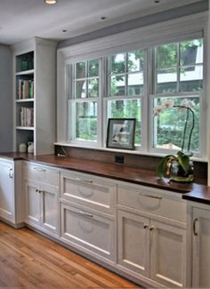 built in sideboard for the dining room