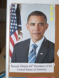 I believe it is important to have a picture of the current President in any American classroom. Its important that kids can recognize their leader.