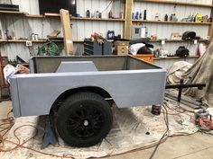 Jeff's DIY Dinoot trailer build is coming along nicely. We set his axle up to run matching Motegi wheels for sharing a spare with his Subaru. Check his build thread out at the link Trailer Build, Subaru, Compact, Baby Strollers, Antique Cars, Wheels, Camping, Building, Link