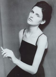 Stella Tennant photographed by Paolo Roversi for Vogue Italia, February 1996