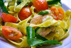 Recept: Cestoviny s pestom | Nebíčko v papuľke Pasta Recipes, Italian Recipes, Potato Salad, Spaghetti, Potatoes, Ethnic Recipes, Food, Meal, Potato
