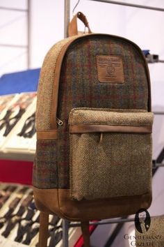 Harris Tweed backpack | MRket New York January 2013