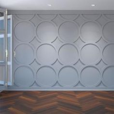 Ekena Millwork in. Large Beacon White Architectural Grade PVC Decorative Wall Panels - The Home Depot White Wall Paneling, Off White Walls, Pvc Wall Panels, Decorative Wall Panels, Panel Walls, Wall Spaces, Wall Design, Ceiling Design, House Design