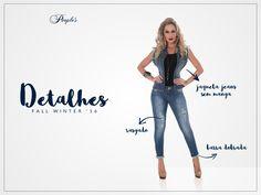 Como não se apaixonar por esse shorts? 😍 #Detalhes #PeoplesJeans #FallWinter