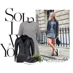 Zestaw z 24 kwiecień, składający się m.in. z Torebka NEW LOOK, Sukienka Calvin Klein Jeans, Trampki DKNY.
