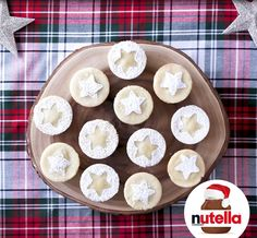 Fluffy Cakes with Nutella® hazelnut spread