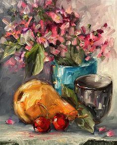 Original Fine Art By © Angela Sullivan in the DailyPaintworks.com Fine Art Gallery