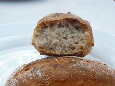 Ovesné kváskové dalamánky Sourdough Bread, Bread Baking, Bread Recipes, Ham, Food And Drink, Yeast Bread, Baking, Hams