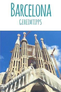 Barcelona, Spanien: Geheimtipps einer Einheimischen - lies mehr dazu auf meinem Reiseblog! #spanien #barcelona #sagradafamilia