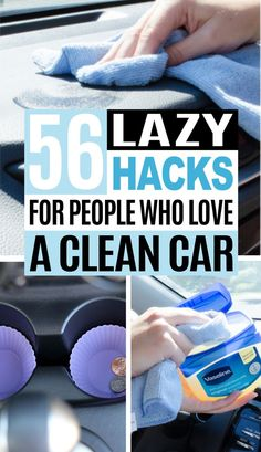 Keeping the car clean isn't the easiest task, but these car hacks will help make your car look clean and tidy! So definitely check out these car organization hacks and car cleaning hacks. They're absolutely brilliant! #CarHacks #CarOrganizationHacks #CarCleaningHacks #CleaningHacks
