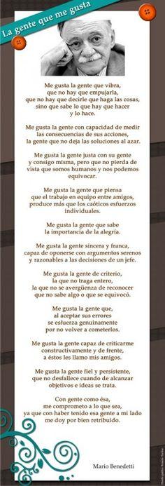 Poesias de Mario Benedetti