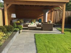 Discover recipes, home ideas, style inspiration and other ideas to try. Backyard Seating, Backyard Patio, Garden Sitting Areas, Rose Trees, Outdoor Living, Outdoor Decor, Cabins In The Woods, Yard Landscaping, Dream Garden