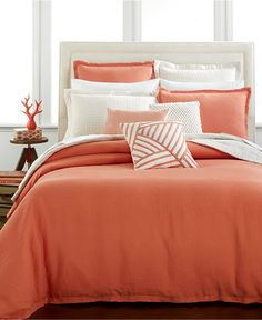 CLOSEOUT! Hotel Collection Linen Poppy Bedding Collection, Only at Macy's - Bedding Collections - Bed & Bath - Macy's