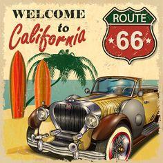 California. Route 66.