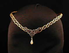 medieval tiaras circlets | Medieval Renaissance circlet tiara pagan by ElvenstarDesign
