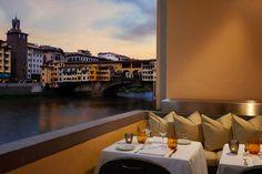 Dining on the river Arno at Borgo San Jacopo Restaurant