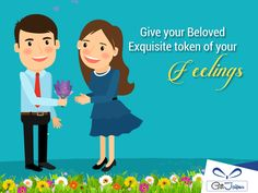 Every moment is worth celebrating when you are with her, isn't it! Show your loving side by gifting her this Beautiful #Flowers - https://www.giftjaipur.com/flowers