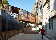 Image 3 of 49 from gallery of East Sydney Early Learning Centre / Andrew Burges Architects. Photograph by Peter Bennetts Learning Centers, Early Learning, Plywood House, Early Childhood Centre, Australia House, Adaptive Reuse, Courtyard House, Stone Houses, Big Houses