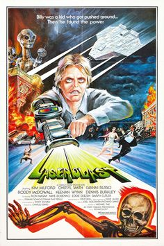 Laserblast (1978) a cheap third string. saw it when i was a kid, it really scared the crap out of me