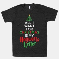 Christmas Hogwarts Letter #harrypotter #christmas