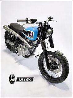 "Yamaha SR 500 ""D-Track"" by JvB-Moto & Kedo"