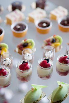 Mignardises desserts