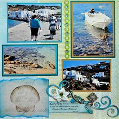 Mykonos, Greece - LEFT SIDE - Scrapbook.com