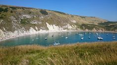 Stunning weather at Lulworth Cove
