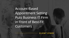 ABM efforts can be hard to scale. This IT company managed to overcome this challenge, thanks to Callbox's account-based appointment setting strategy. Lead Nurturing, Six Month, Marketing Data, Market Research, Lead Generation, Things To Know, Appointments, Case Study