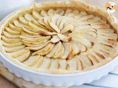 Tartaleta de manzana y compota, Receta Petitchef Dessert Simple, Dessert Drinks, Apple Pie, Deserts, Favorite Recipes, Bread, Baking, Food, Carrot Pudding