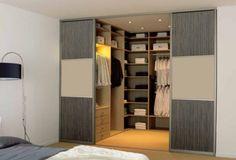 slaapkamer met inloopkast - Google zoeken