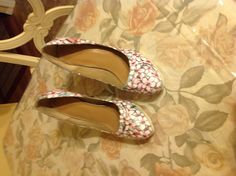 My Cherry Blossom shoes are getting there....