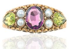Gorgeous 'Suffragette' Victorian ring. www.helenbadge.com