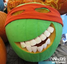 2014 Pumpkin Carving Contest! #pumpkin #carve #TMNT