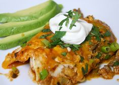 paleo beef enchiladas #paleo #glutenfree. I'd like to try these with shredded beef in place of ground, and store bought tortillas.