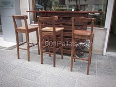 tumblr m75a77AZic1r4n5yto2 1280 600x450 Bar made of pallets in pallet furniture  with Recycled Pallets Bar