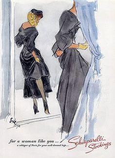 carl erickson fashion illustrator