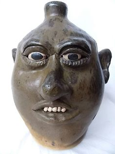 Lanier Meaders Southern Folk Art Pottery Ugly by ourtimecapsule, $1200.00
