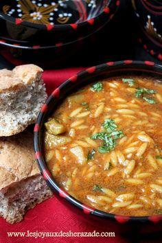 recette de chorba lsan tair , recette algerienne, cuisine algerienne