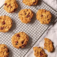 Oatmeal Cookies with Orange-Soaked Cranberries - Tempting Holiday Cookie & Bar Recipes - Coastal Living