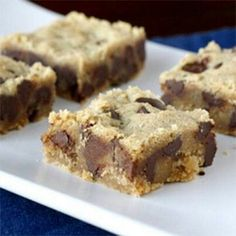 Chewy peanut butter choc brownies