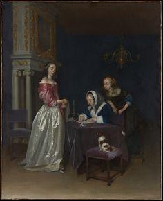 Curiosity - Gerard ter Borch the Younger (Dutch, Zwolle 1617–1681 Deventer)