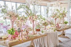 Candybar: Candybar Couture  Luxe Launch Photography: Krista Mason Photography Luxe Launch Floral Design + Backdrop: Clarissa Rezende  Luxe Launch Linens: LUXE Linen  Rentals: Revelry Event Design Luxe Launch Venue: Vibiana  Luxe Launch China: Dish Wish Events  Rentals: Found Vintage Rentals  Rentals : Casa De Perrin Venue: Mr. C Beverly Hills  Photography: Joao Coelho for Clarissa Rezende