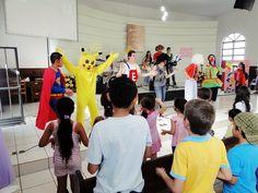 Participamos do Clube Bíblico de Férias (CBF) em Julho de 2011 com peças teatrais e entretenimento.