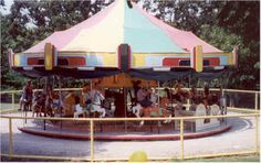 Independence, Kansas.  Still only a nickel to ride!  There was a grant made a long time ago, and it will forever cost 5 cents to ride the carousel! Zoo admission is free, too.    See the official website: http://www.forpaz.com/