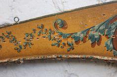 Beautiful detailing on an antique pelmet from DC member Doe & Hope