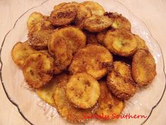 Simply Southern fried squash